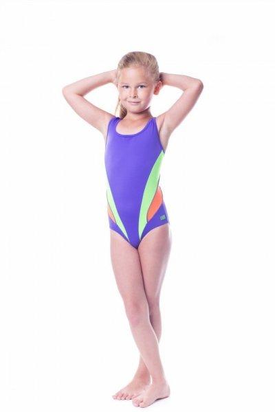 Dívčí plavky Shepa 045 (B22D11/14) 158 fialová-seledinová