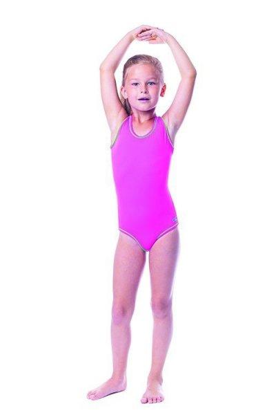 Dívčí plavky Shepa 001 (B9) 158 růžová