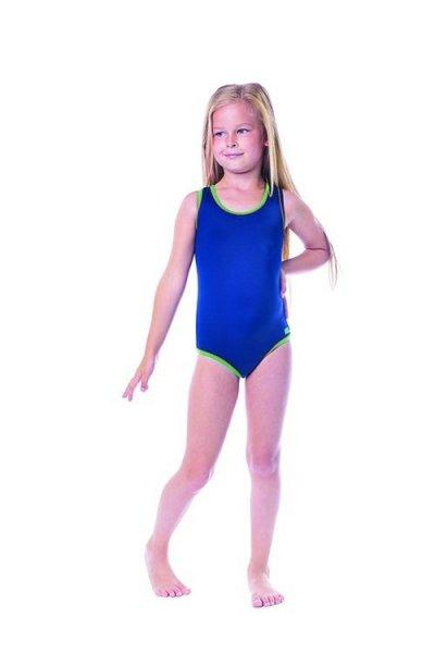 Dívčí plavky Shepa 001 (B2) 152 tmavě modrá
