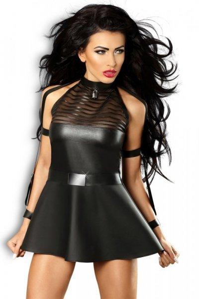 Lolitta Sensuality Šaty S/M černá