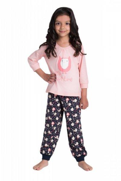 Dětské pyžamo SAG-PY-002 Rossli 104-110 růžová