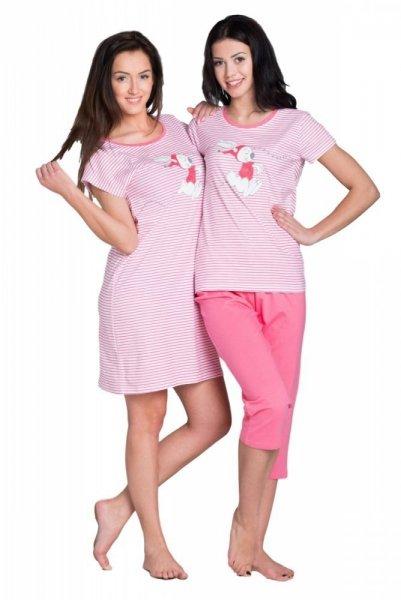 Dámské pyžamo SAL-PY-036 růžové Rossli XL růžová