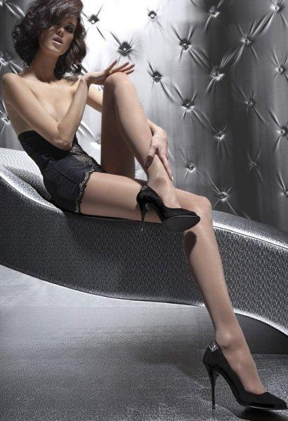 Fiore Sandrea 15DEN Punčochové kalhoty 2-S Amber (jantarová)