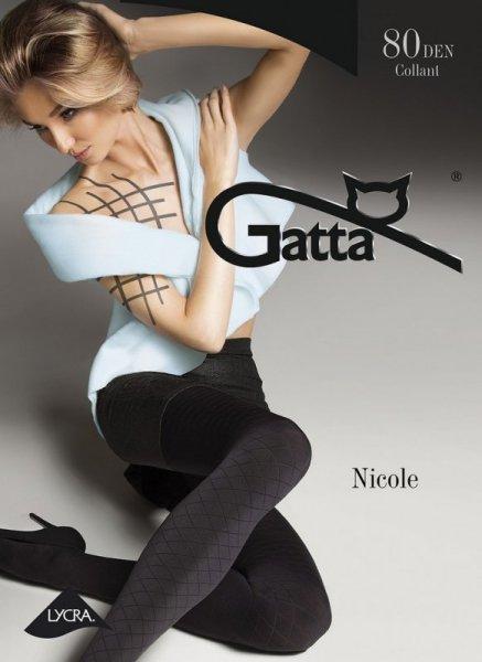 Gatta Nicole 07 Punčochové kalhoty 3-M Nero