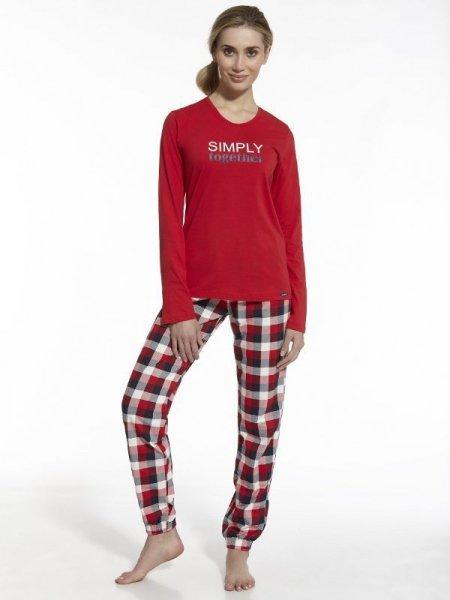 Cornette Simply Together 673/42 Dámské pyžamo XXL červená