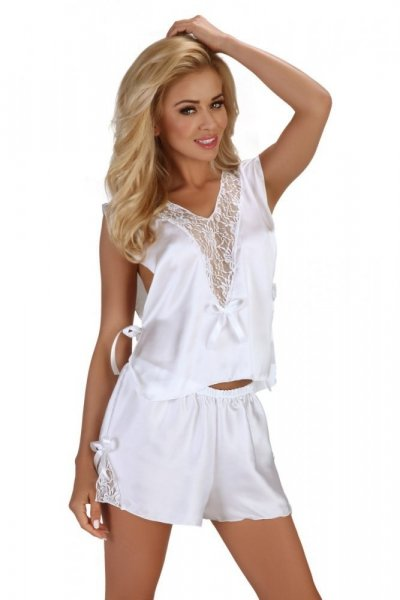 Beauty Night Fashion Erotická souprava Mellissa white XXL bílá