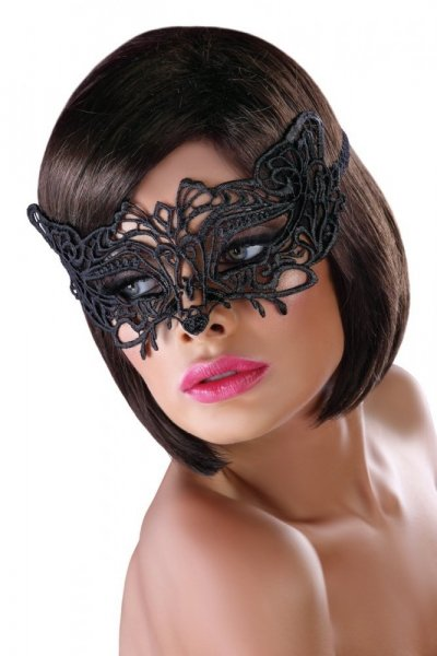 Erotická maska Mask model 13 Univerzální černá