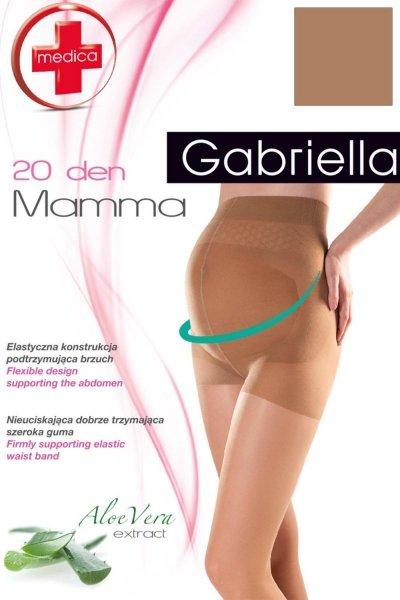 Gabriella Medica Mamma 20 Code 108 Punčochové kalhoty 2-S Smoky