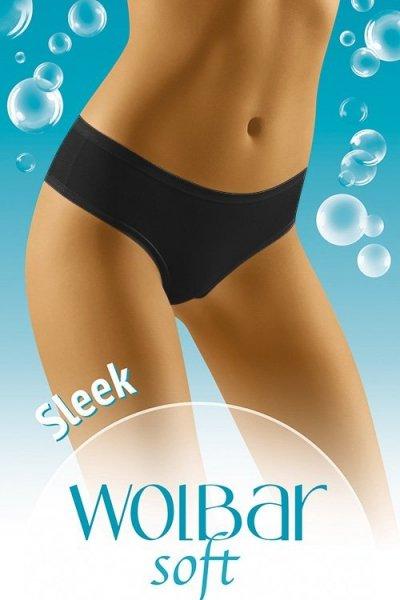 Wol-Bar Soft Sleek Kalhotky M černá