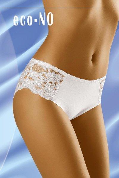 Wol-Bar Eco-No Kalhotky M bílá