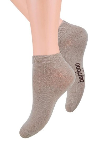 Steven 094 Pánské ponožky 44-46 béžová