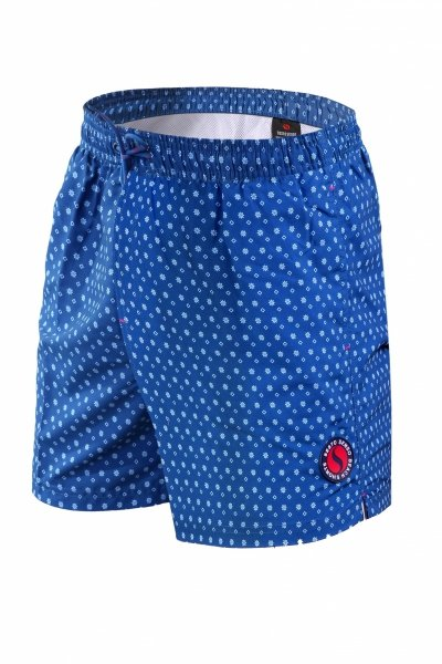 Sesto Senso Jesolo Pánské plavky XL tmavě modrá/vzor
