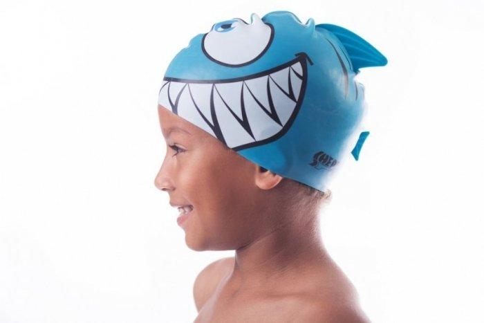 Plavecká čepice Kids Shepa Płetwa (B4) One size modrá