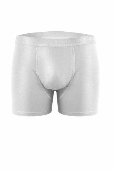 Sesto Senso Cougar bílý Pánské boxerky XL bílá