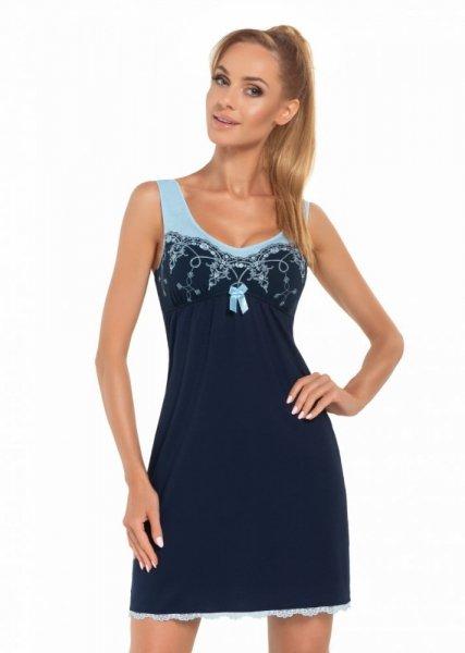 Donna Karina tmavě modrá Noční košile M tmavě modro-modrá