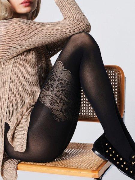 Fiore Elizabeth 40 den Punčochové kalhoty 2-S black