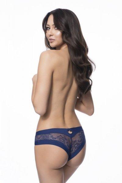 Julimex Kiss Panty Tmavě modré Kalhotky XL tmavě modrá