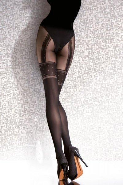 Fiore Temida Punčochové kalhoty 2-S black