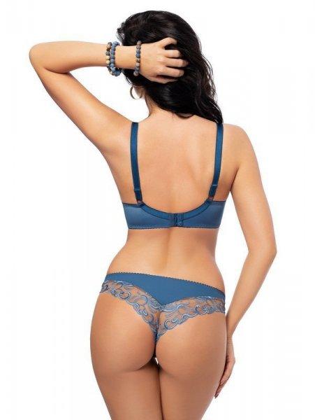 Gorsenia Blue Tatoo K489 brazilky Kalhotky XL modrá