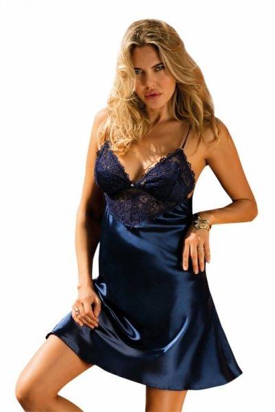 Dkaren Alice tmavě modrá Noční košile L tmavě modrá